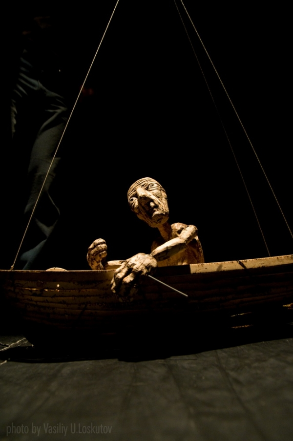 «The Old Man and the Sea» - Tanya Weinstein, Puppet Theater Dzampano, OKNO dance festival '09